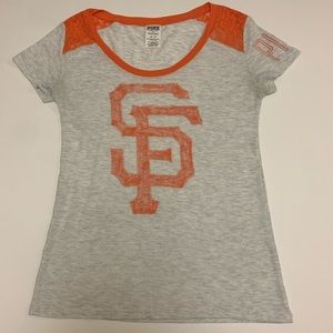 PINK SF Giants Shirt